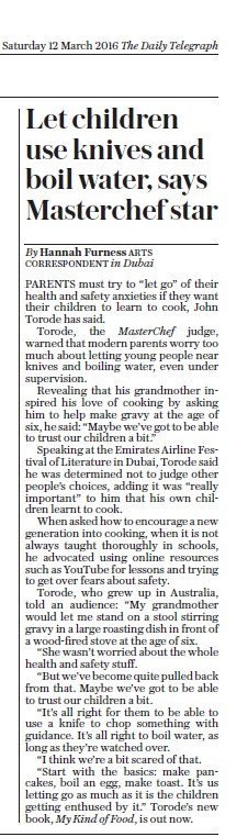 The Daily Telegraph 03.12.2016 Pg 8
