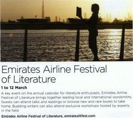 Jumeirah Magazine – Emirates Airline Festival of Literature