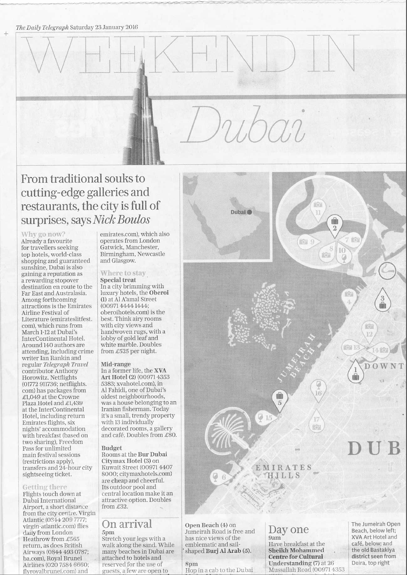 The Daily Telegraph 23.01.2016