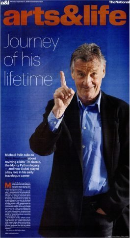The National – Michael Palin Journey of his Lifetime