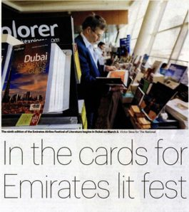 The National – In the cards for Emirates litfest