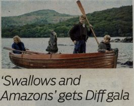 """Gulf News Tabloid – """"Swallows and Amazons"""" gets Diff gala"""