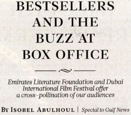 Gulf News The View – Bestsellers and the buzz at box office