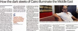 The National – How the dark steets of Cairo illuminate the Middle East