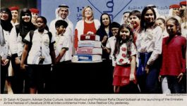 Gulf News – Top Authors to Attend Emirates Airline Festival of Literature
