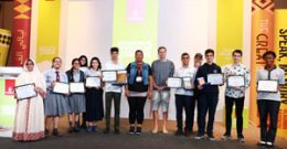Emirates NBD Poetry for All Competition Honours Students and Performers of Determination at the Emirates Airline Festival of Literature