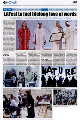 LitFest to fuel lifelong love of worlds – The Gulf Today