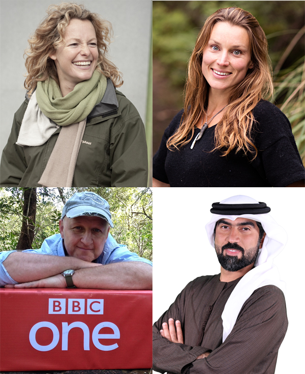 Dispatches from the Wilderness: Ali Al Saloom, Gavin Thurston, Kate Humble & Miriam Lancewood
