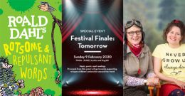 EMIRATES AIRLINE FESTIVAL OF LITERATURE ANNOUNCES WHIZZPOPPING POPPYROT